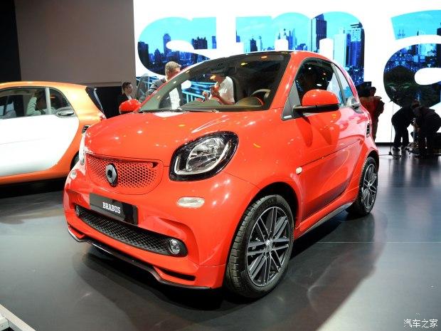 smart smart fortwo 2015款 基本型