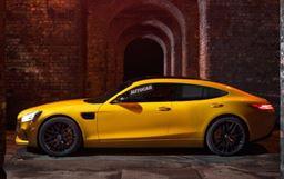 四门掀背 AMG GT4概念车日内瓦车展亮相