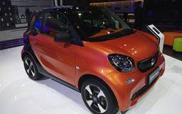 2017廣州車展:2018款smart正式亮相