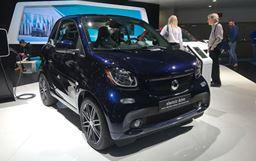 2018北美車展:smart fortwo特別版首發