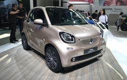 2018北京車展:smart耀金版售價14.5888萬起