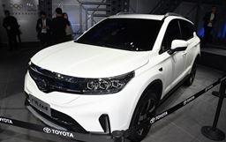 2018北京車展:廣汽豐田ix4 EV發布