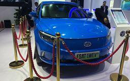 2018北京車展:富晟汽車發布首款電動車