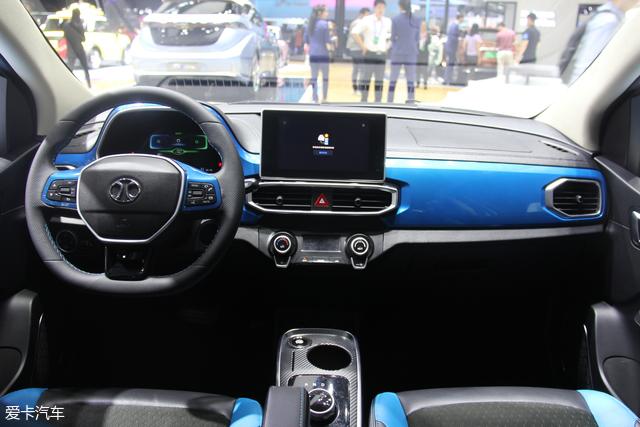 2018北京车展:北汽新能源EC3正式发布