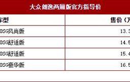 2018成都車展:新朗逸兩廂版售13.39萬起