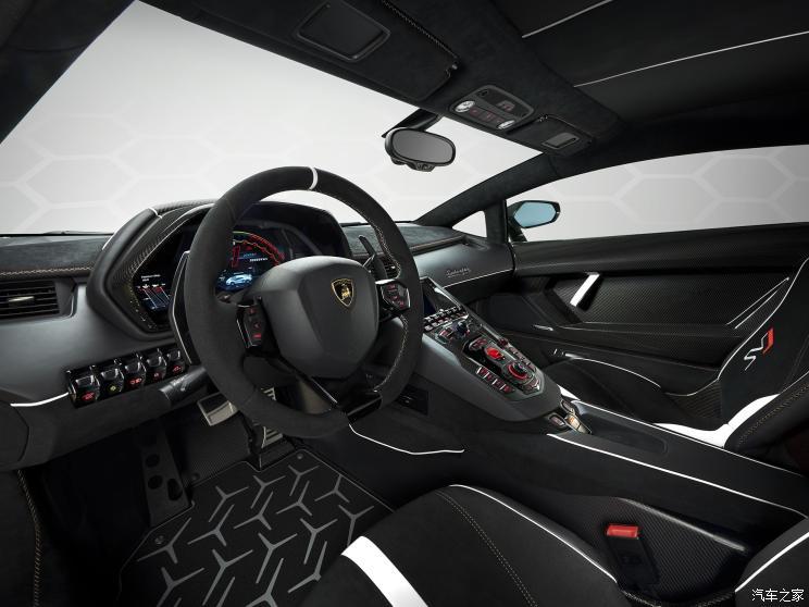 兰博基尼 Aventador 2019款 Aventador SVJ 63特别版