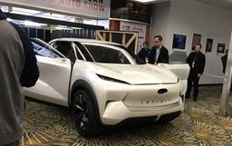 2019北美车展:英菲尼迪纯电动概念SUV