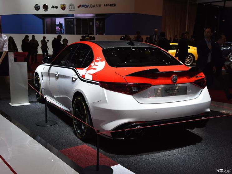 阿爾法·羅密歐 Giulia 2019款 Quadrifoglio QV賽車版