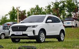 定位小型SUV 奔騰T33有望8月份上市