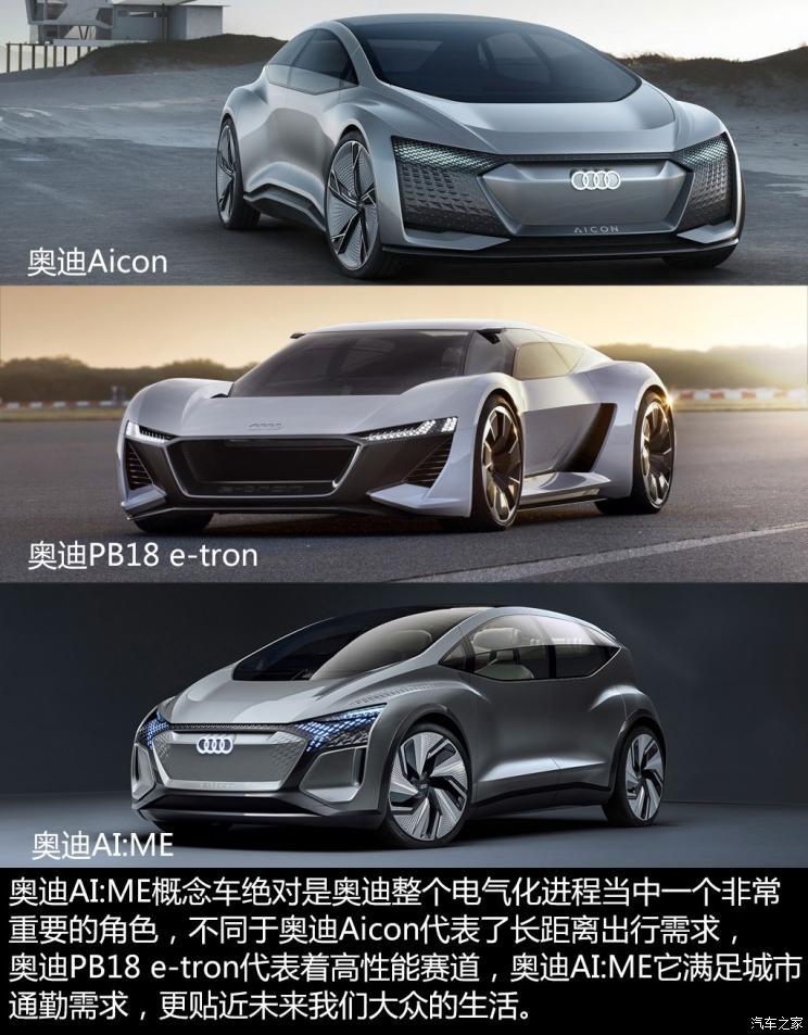 奥迪(进口) 奥迪AI:ME 2019款 Concept